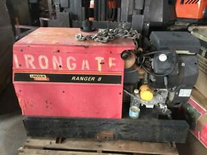 Lincoln Portable Gas Welder Ranger 8 225 Amp Ac 210 Amp Dc 8 Kw Ac Generator