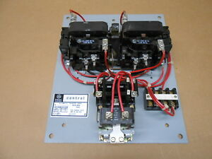 1 New Ge Cr36053 Cr360s302aa02 Automatic Transfer Panel Electrically Held 30amp