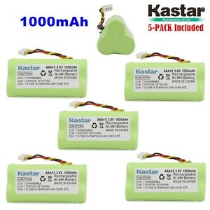 5 X Kastar Motorola Symbol Ls 4278 Ds 6878 Replacement Battery 1000mah Aaa 3 6v