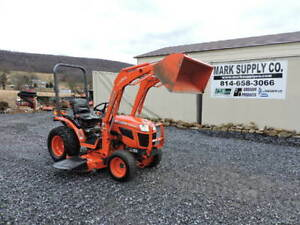 2012 Kubota B2920 Compact Tractor Loader Belly Mower Diesel 4x4 3 Point Pto
