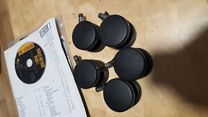 Aeron Chair Caster Sets By Herman Miller Hard Floor Casters