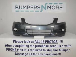 Oem 2011 2012 Honda Accord Eex Ex L V6 Engine Only Front Bumper Cover