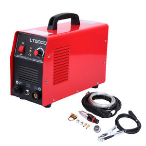 50 Amp Dual Voltage Digital Inverter Pilot Arc Air Plasma Cutter Cutting Machine