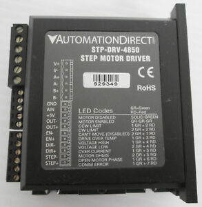 Automation Direct Stp drv 4850 Step Motor Driver