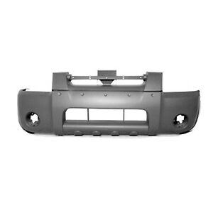 Replacement Bumper Cover For 01 04 Frontier Front Ni1000185pp