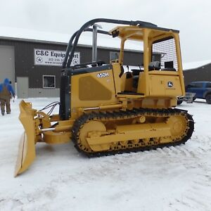 2003 John Deere 650h Dozer Good Shape Low Hours New Bottom