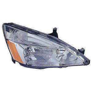 Replacement Headlight For 03 07 Accord Passenger Side Ho2503120c