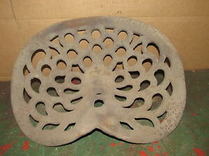 Cast Iron Tractor Seat 1675