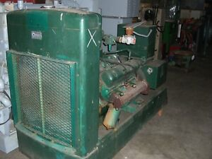 International Harvester Mod 549 V 8 75kw Generator Natural Gas Fueled