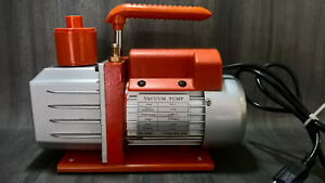 Best Value Vacs Rs3 7 Cfm Single Stage Vacuum Pump 110v 1 4 inch Used