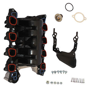 W Thermostat Gaskets Intake Manifold Kit New For Ford Lincoln 4 6l V8 Mercury