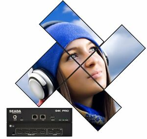 Creative Video Wall Controller Any Degree Rotation Sound Control Uk Technology