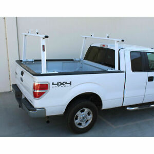 Adjustable Pickup Truck Ladder Rack Aluminum Lumber Cargo Contractor Utility
