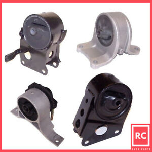 Motor Trans Mount 4pcs Set For 2004 2006 Nissan Quest 3 5l Auto 4spd Trans