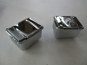 1965 1968 Chrysler Dodge Plymouth C Body Convertible Rear Ashtrays New