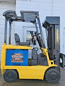 Daewoo Bc20s 2 Electric 4000lb 240 Lift Forklift Lifttruck
