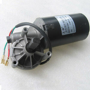 1pcs Dc12v 20rpm 55kg cm Turbo Worm Gear Motor Gw70105 Left For Barbecue Chicken