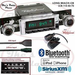 Retrosound Long Beach Cb Radio Bluetooth Ipod Usb 3 5mm Aux In 113