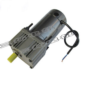 1pcs Dc24v 65w 4 5a Gear Reducer Motor Adjustable Low Speed For Barbecue