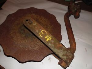 Allis Chalmers Farm Tractor Snap Coupler Plow Coulter Assembly 3