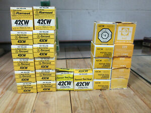 Ramset 12063 Yellow 42cw 22 Cal Low Velocity Single Shot Powder Loads 24 Boxes