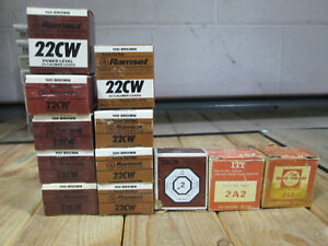 Ramset 12061 Brown 22cw 22 Cal Low Velocity Single Shot Powder Loads 12 Boxes