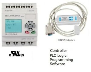 Learn Automation Plc Programmable Logic Controller Dc And Analog Inputs 12v 24v
