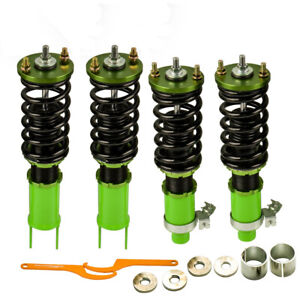 Full Coilover Adj Suspension Kits Fit Honda Civic 1992 1997 Integra 94 01