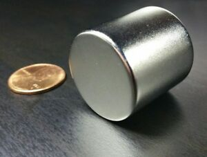 1 Large Neodymium 1 X 1 N52 Cylinder Magnet Super Strong Rare Earth