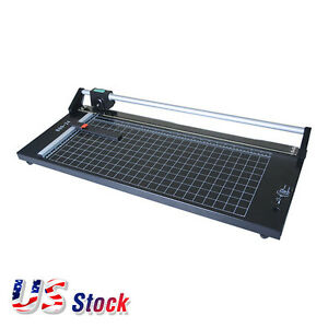Us Stock 24 Inch Manual Precision Rotary Sharp Photo Paper Cutter Paper Trimmer