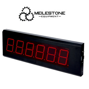 5 Segment Led Remote Display Score Board Connected With Indicator Indoor Use