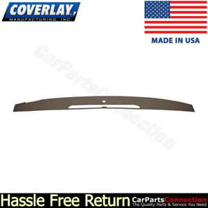 Coverlay Dash Board Cover Dark Brown 18 714v Dbr For Escalade Vent Portion