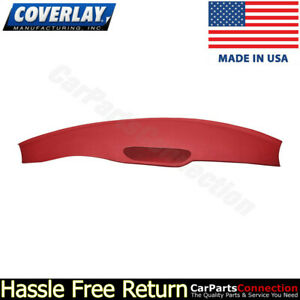 Coverlay Dash Board Cover Red 18 702 rd For 1997 2002 Chevy Camaro
