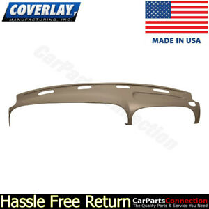 Coverlay Dash Board Cover Medium Brown 22 802ll Mbr For 1998 2001 Dodge Ram