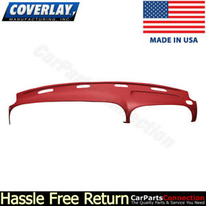 Coverlay Dash Board Cover Red 22 802ll rd For 1998 2001 Dodge Ram