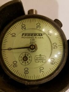 Federal Dial Gauge 001 Miracle movement