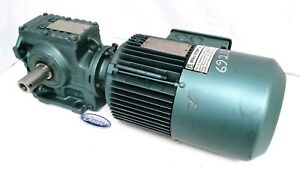 New Sew Eurodrive Gear Motor Speed Reducer Right Angle 1 2hp 460v 29 1 1700rpm