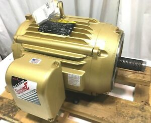 New Baldor Super e 15hp Electric Motor 1175rpm 230v 460v 60hz 284 Tc 284tc Teao