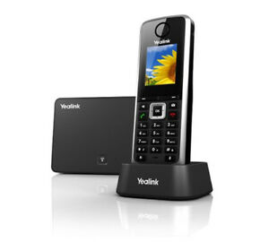 Yealink Sip w52p Wireless Dect Cordless Handset And Base Unit