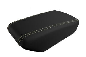 Console Armrest Leather Synthetic Cover Fits Nissan Maxima 16 19 Beige Stitch