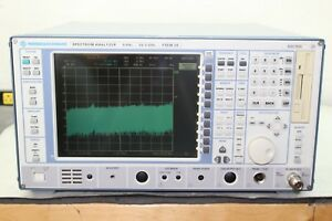 Rohde Schwarz Fsem20 9 Khz 26 5 Ghz Spectrum Analyzer Calibrated Opt B4 Ocxo