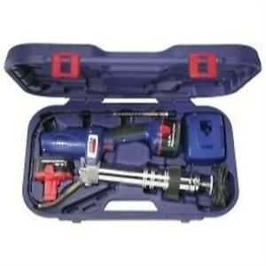 14 4 Volt Grease Gun Kit With 2 Batteries Lincoln 1444