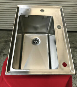 21x14 Stainless Steel Drop In Sink 7703 Commercial Restaurant Washing Cleaning