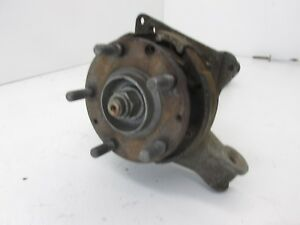 78 82 Porsche 928 Manual Transmission Wheel Hub Spindle Knuckle Axle L s