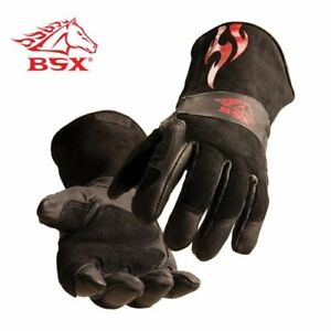 Bsx Stick mig Welding Gloves By Model Bs50 l Size L