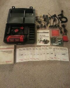 Snap On Tools Mt2500 Scanner Programmable Vci Tsi 18 Keys Adapters Manuals Cable