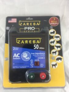 Zareba Eac50m z Ac Low Impedance Fence Charger 50 Mile