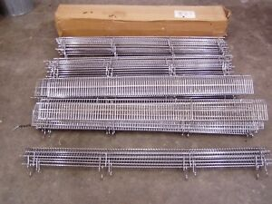 Gondola Shelf Wire Fence 6 H X 48 L Lozier Madix Chrome Finish 20 Pieces