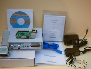 Bitscope Bs310 100mhz Dual Channel Dso Function Generator Raspberry Pi