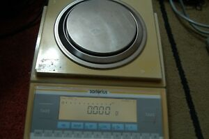 Sartorius Lp1200s Analytical Lab Scale Digital Balance Delta Range 1 Mg